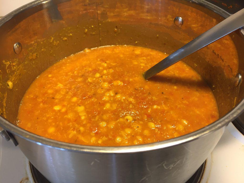Chana dal with masala mix